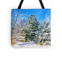 Idaho Winter Scene 1, USA Tote Bag