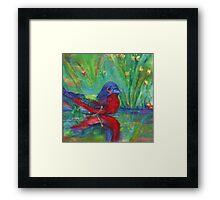 Mr. Finch Framed Print