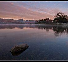 First light over Derwent water by Shaun Whiteman