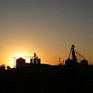 Sunset Silos by NancyC
