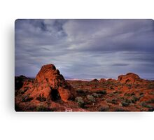 In the Valley of Fire Canvas Print