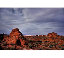 In the Valley of Fire Photographic Print