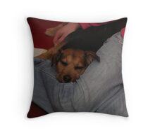 Alfie & Lorna Throw Pillow
