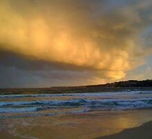 Cloud over Bondi Beach, Australia by solwalkling