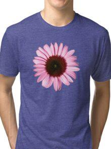'New Pink Coneflower' Tri-blend T-Shirt