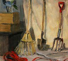 Garden Tools by Inna Lazarev