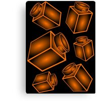 1 x 1 Bricks (AKA Falling Bricks) Canvas Print