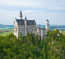 Neuschwanstein Castle by roumen