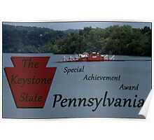 The Keystone State special achievement award Poster