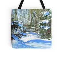 Idaho Winter Scene 2, USA Tote Bag