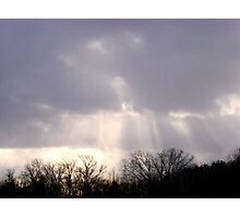Rays of Sun Photographic Print
