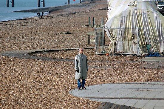 Long wait by a short pier by Ben Porter