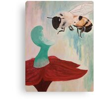 The Gathering Bee Canvas Print