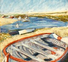Boat - Burnham Overy Staithe, Norfolk, UK by helikettle