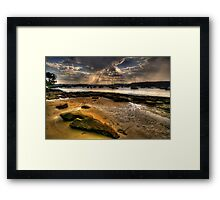 Sunshine  Melody - Paradise Beach, Sydney - The HDR Experience Framed Print
