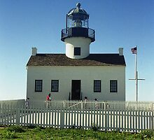 Lighthouse, San Diego by Maggie Hegarty