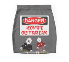 DANGER ZOMBIE OUTBREAK Pencil Skirt