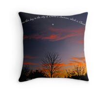 Wishing You a Joyful Christmas Season! Throw Pillow