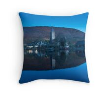 Sleeping Kirk, Port of Menteith, Scotland Throw Pillow