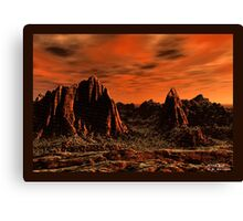 Mars Eve Canvas Print