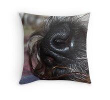 Ru Nose Throw Pillow