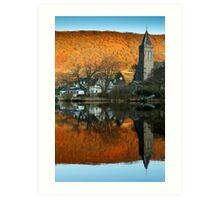 Awake Kirk, Port of Menteith, Scotland Art Print