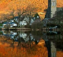 Awake Kirk, Port of Menteith, Scotland by Michael Marten