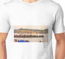 departure. 2.oo p.m. Unisex T-Shirt