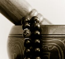Singing Bowl and Mala by Edward Myers