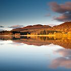 Winter sunrise, Lake of Menteith, Scotland by Michael Marten