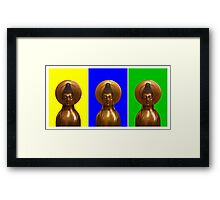 Buddha to the Third Framed Print