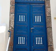 Blue Door Cutouts by phil decocco