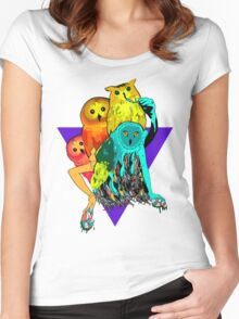 Tropicowls Women's Fitted Scoop T-Shirt