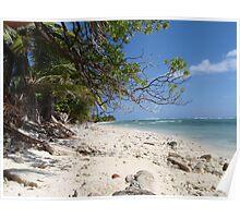 Beachscape - Cocos Island Poster