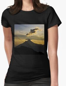 a desolate Congo landscape Womens Fitted T-Shirt