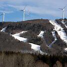 Big Rock Ski Area by Brenda Dow