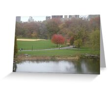 Best of Both Geographical features Greeting Card