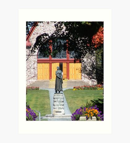 Grand Pre and Evangeline Art Print