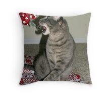 Polka Dots Freak Me Out!! Throw Pillow