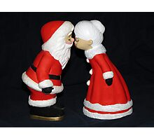 Santa and Mrs. Claus Photographic Print