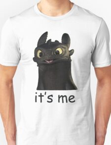 Toothless Its Me Face Unisex T-Shirt