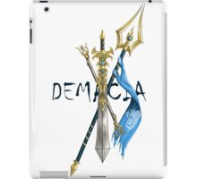 Weapons Of Demacia - League of Legends  iPad Case/Skin