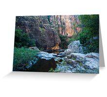 Twin Falls Gorge - Kakadu National Park, NT Greeting Card