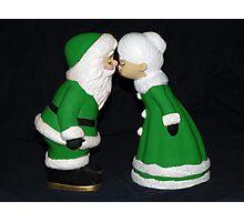Santa and Mrs. Claus ll Photographic Print