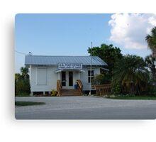 Pine Island Post Office Canvas Print