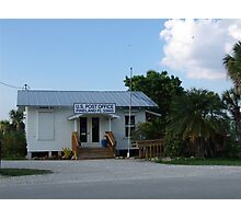 Pine Island Post Office Photographic Print