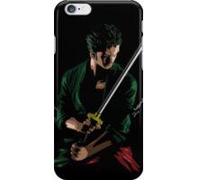Zoro Sword Master iPhone Case/Skin