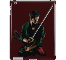 Zoro Sword Master iPad Case/Skin
