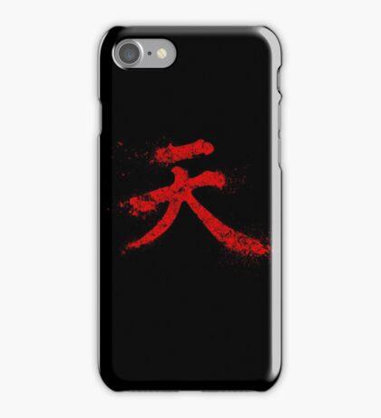 Akuma Kanji iPhone Case/Skin