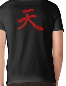 Akuma Kanji Mens V-Neck T-Shirt